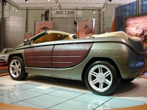 三菱 SUV概念车高清图片